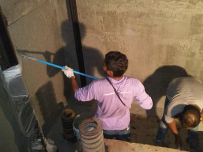 Balcony: Kitchen: Toilet Waterproofing-10