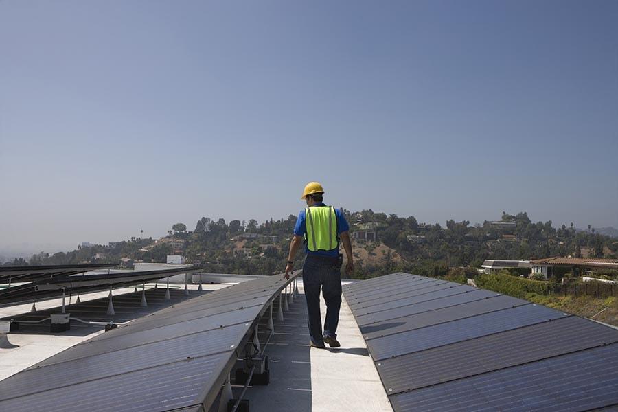 Flat roof waterproofing repair